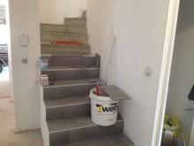 Escaliers à Saint-Ismier